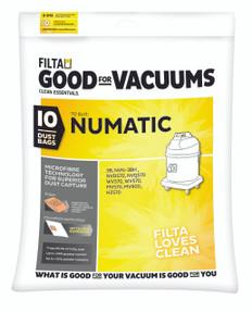 Filta Numatic Microfibre Vacuum Bags 30-50 Litres