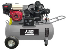 Iron Horse Portable 8HP Powerdyne Engine Compressor, AC21P