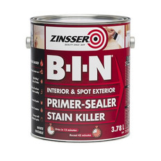 Zinsser BIN Primer Sealer White 3.75L