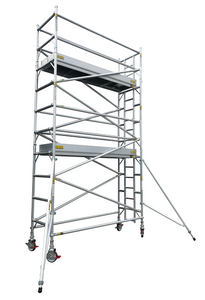 Titan Single Width Mobile Tower Scaffolding With Integrated Ladder
