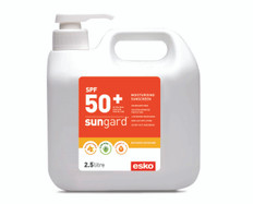 Sungard SPF50+ Moisturising Sunscreens 2.5ltr