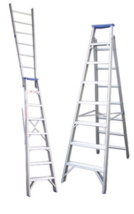 Pro-Series Dual Purpose Aluminium Step Ladders