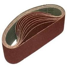 75mm x 457mm GXK51 Portable Cloth Sanding Belts