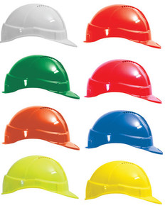 Tuff-Nut Vented Hard Hats with Chin Strap