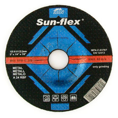 Sun-Flex Reinforced Depressed Centre Metal Grinding Wheel