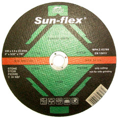 Sun-Flex Reinforced Masonry Cutting