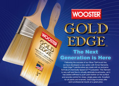 Wooster Gold Edge Brushes