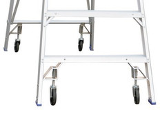 Wheel Kits for Indalex Platform Ladders