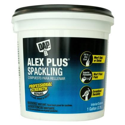 Alex Plus Spackling, 3.78L Tub