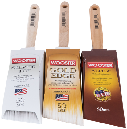 Wooster 50mm Angle Sash Brushes