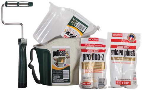 Wooster Ultimate Mini Roller Kit - Bucket, Liners, Roller Frame and Sleeves