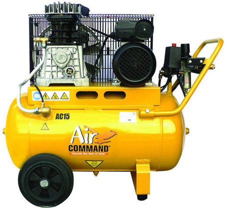 Air Command 3HP Belt Drive Compressor - 50L Tank, AC15
