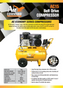 Air Command 3HP Belt Drive Compressor Brochure