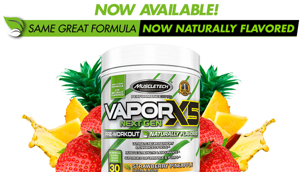 VaporX5 Naturally Flavored