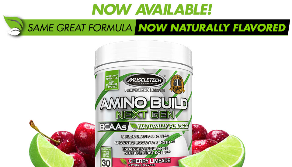 Amino Build Next Gen Naturally Flavored