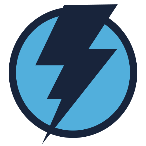 Energy lightning bolt