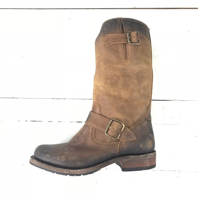 womens leather engineer boots