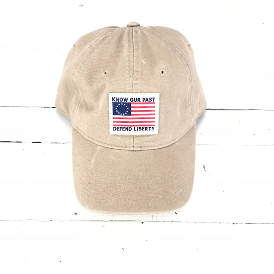 Know Our Past Defend Liberty Hat Khaki