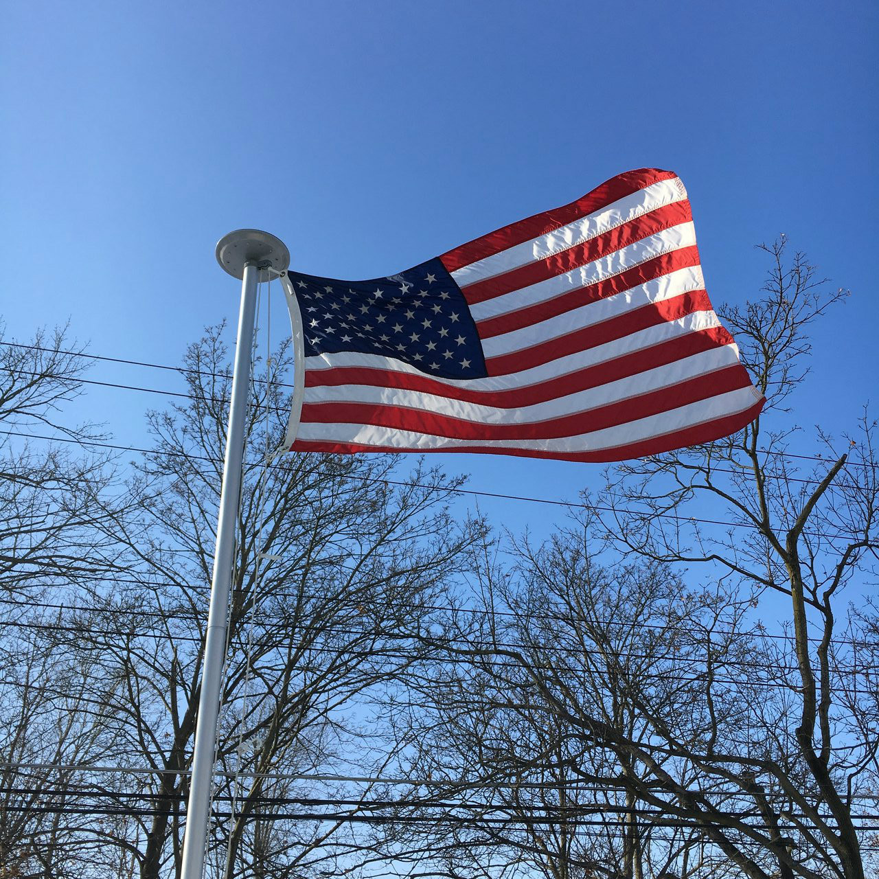 endura nylon u.s. flag 100% made in u.s.a.eder flag
