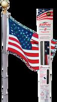The Liberty Telescoping flag pole.