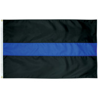 Thin Blue Line: Honor and Remember the Fallen Police Officers-Made in U.S.A.
