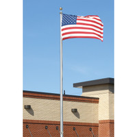 Commercial in ground aluminum flag poles made in the usa commercial grade external halyard flag pole made in usa publicscrutiny Image collections