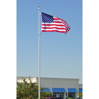 Commercial Grade Internal Halyard Flag Pole-Made in USA