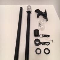 The Freedom 6' Flag Pole Kit: Pole, bracket and Never Furl Kit