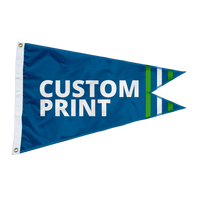 2.5'x4' Custom Burgee Flag
