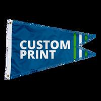 Custom 10'x15' Burgee Flag