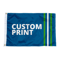 Custom 3'x5' Flags.