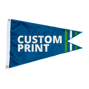 Custom Burgee Flag