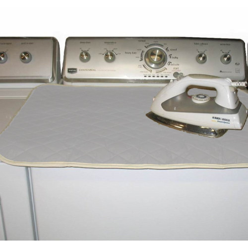 Ironing Blanket is a perfect size for ironing on top of most washers or dryers.