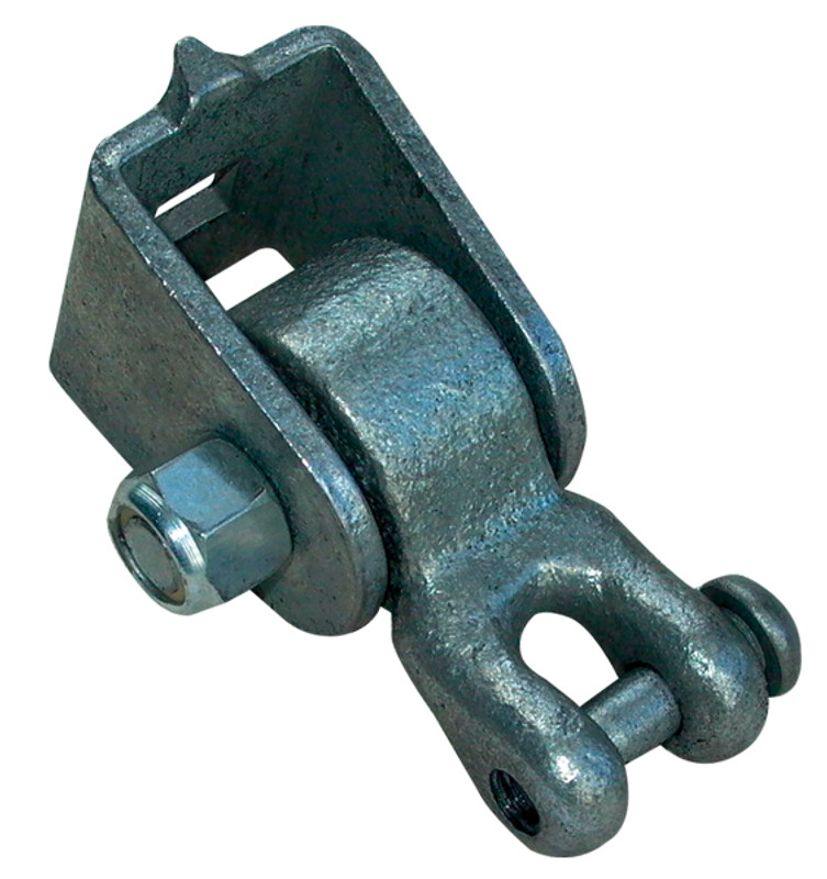 Commercial Wood Beam One Bolt Swing Hanger with Shackle Pendulum