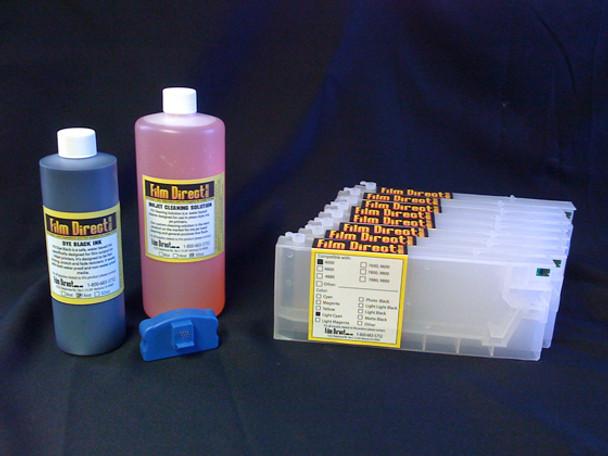 Multi Black Large Format Ink Kit-4000/4800/4880/7600/7800/7880/9600/9800/9880