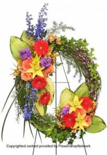 Brilliant Sympathy Wreath