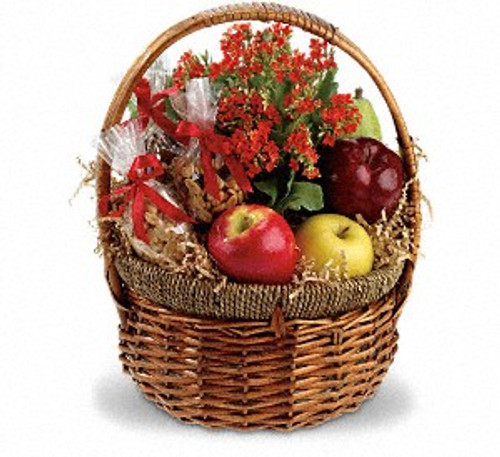 Shop by occasion fruit and gift baskets fortinos flowers and gifts health nut basket negle Choice Image
