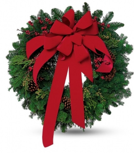 Large Fresh Wreath