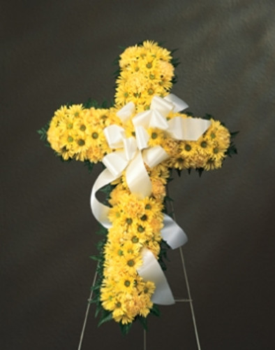 Yellow Daisy Cross