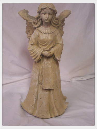 Winged angel planter