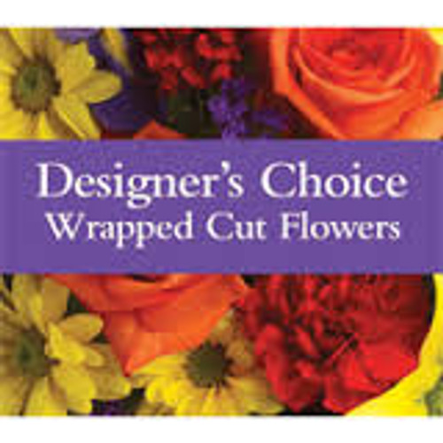 Designers Choice Wrapped Bouquet