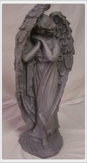 Tall winged angel