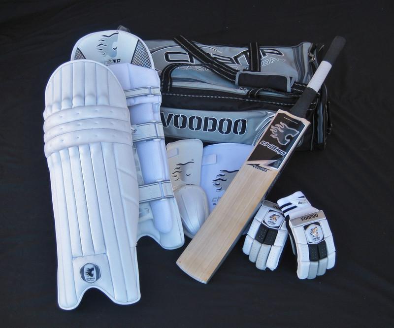 NEW RELEASE CHAMP VOODOO PRO - Men's Senior Level Cricket Kit/Set
