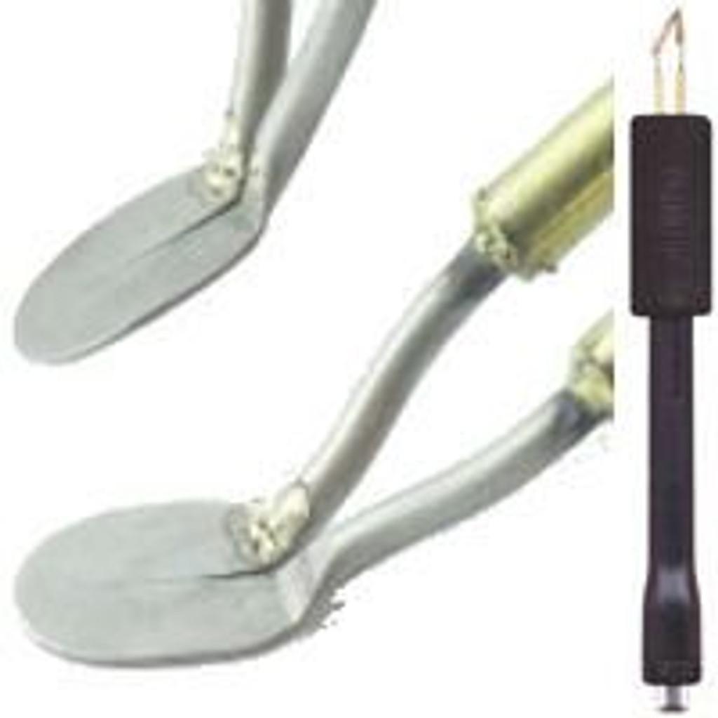 Razertip Round Shader Pyrography Pens showing small round shader.