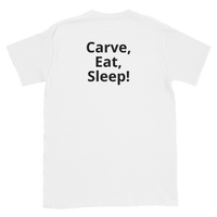 Hummul Carving Short-Sleeve Unisex T-Shirt