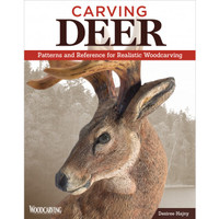 Carving Deer is an amazing book packed full of patterns and reference material r for realistic woodcarving