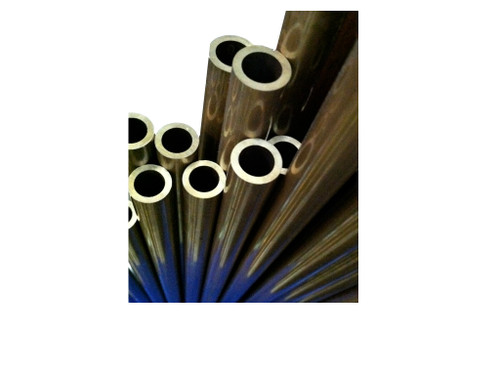 """Brass Tube, 5/8"""" X .095"""" wall, 3600 psi, oxygen clean"""