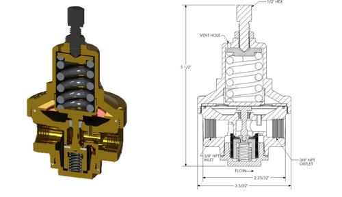 Regulator, Cryogenic Pressure builder