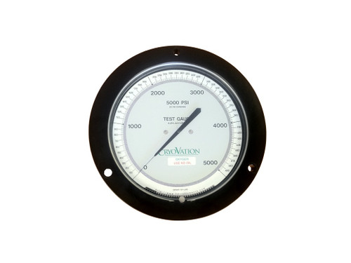 "3D Test gauge 4.5"" face"
