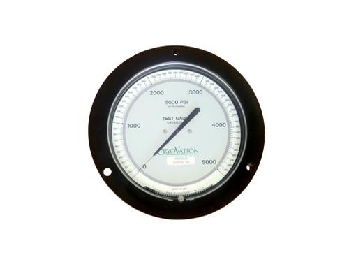 3D 0-5000psi Pressure Gauge